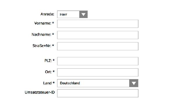 enter your address | Reidinger.de